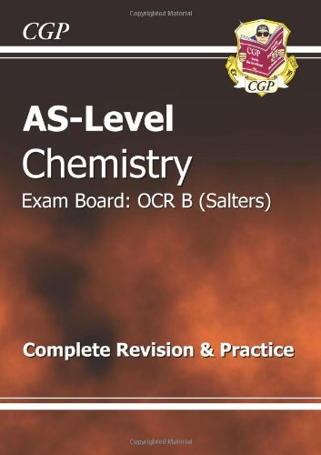 AS-Level Chemistry OCR B (Salters) Complete Revision & Practice