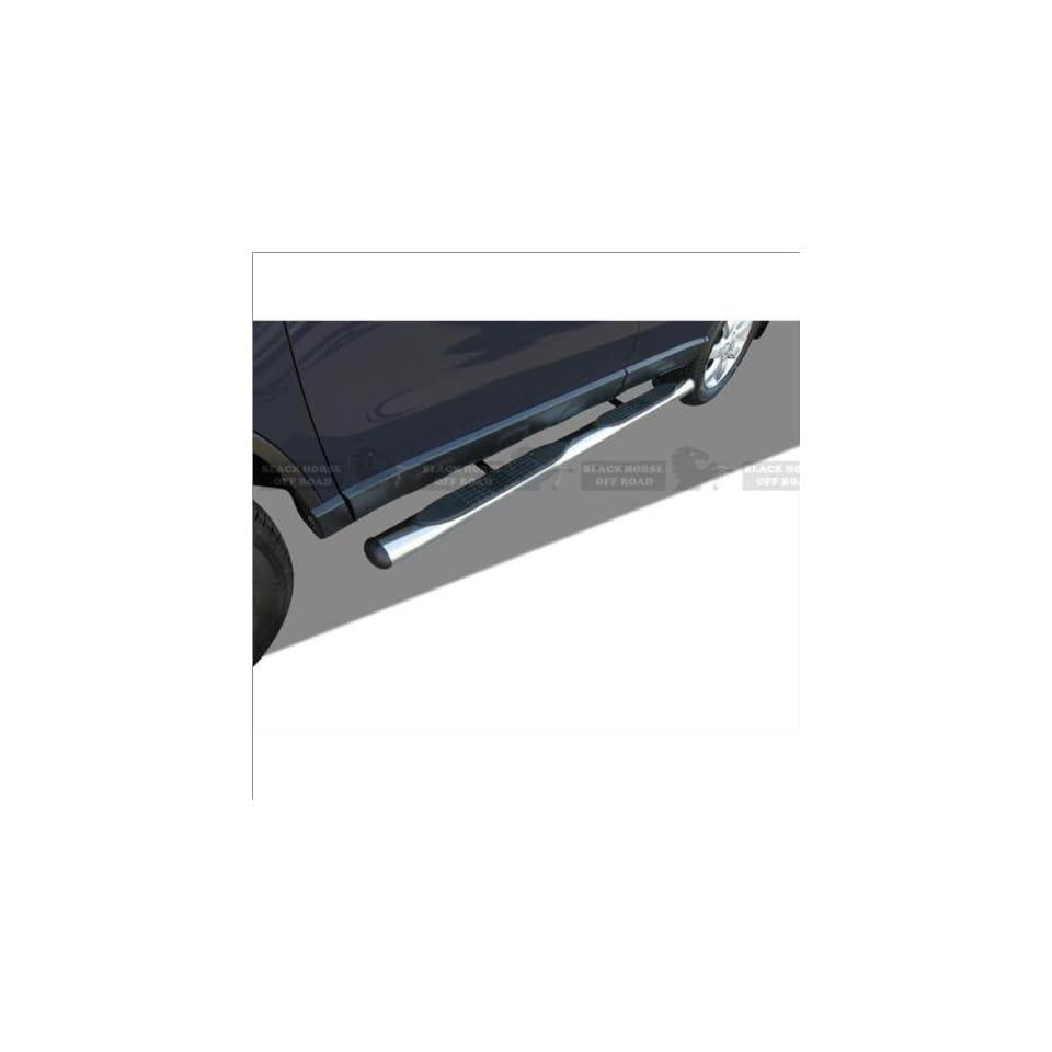 Black Horse Stainless Steel Oval Nerf Bars 07 11 Honda CR V