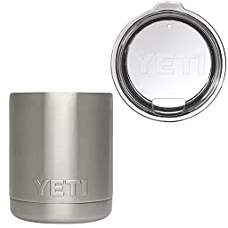 Bundle Yeti Rambler Lowball 10oz and Rambler Lid by Yeti