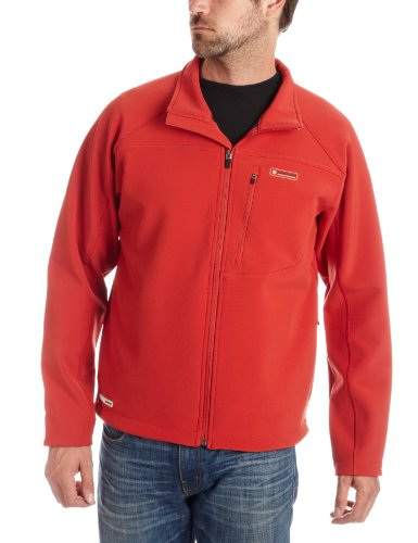 Timberland Men's System Soft-Shell Jacket Red 34432-649 Small