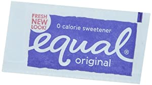 Equal Zero Calorie Sweetener -New 800 Packets