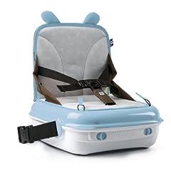 Benbat Yummigo Booster Seat Storage Chair Baby Blue/Brown