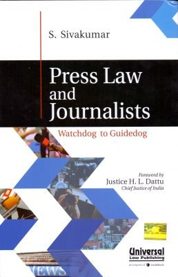 Press Law and Journalists - Watchdog to Guidedog PDF