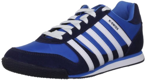 K-Swiss Men's Whitburn Brilliant Blue/Navy Fashion Trainer 02951-420-M 10 UK