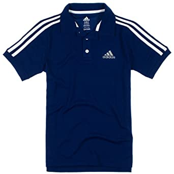 Click here to buy Adidas Boys 8-20 Short Sleeve Athletic Polo Shirt by adidas.