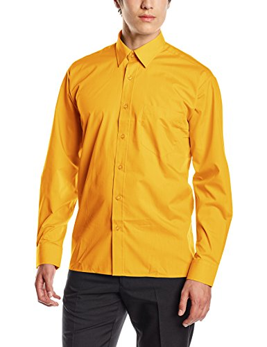 premier-workwear-mens-poplin-long-sleeve-formal-shirt-yellow-sunflower-yellow-xxxx-large-manufacture