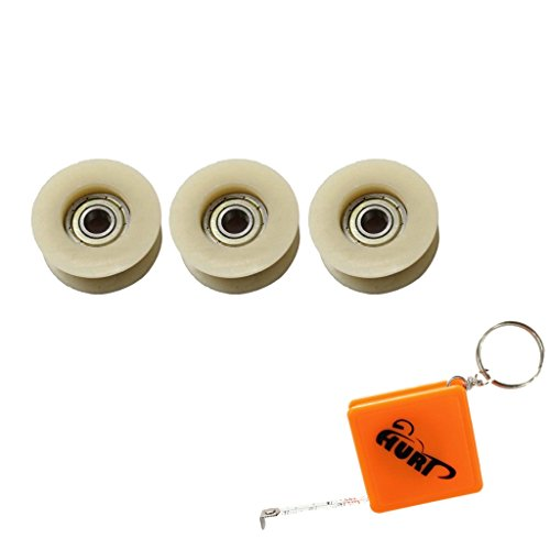 HURI 3 Pulley Chain Tensioner Roller for Motorized Bicycle Bike 49cc 60cc 66cc 80cc 2 Stroke Engine (Motorized Bike Chain Tensioner compare prices)