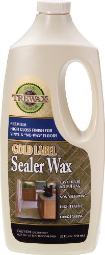 Trewax Gold Label Sealer Wax, Gloss Finish, 32-Ounce front-13872