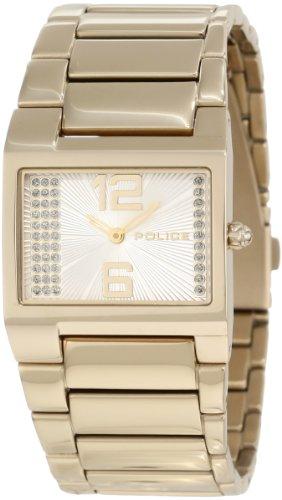 Police 12695LSG-04M Ladies Vanity Silver Dial Gold PVD Bracelet Watch