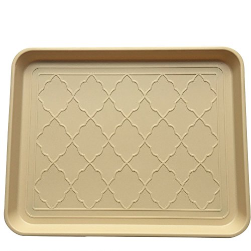 Premium Pet Food Tray- Large Dog And Cat Food Tray With Non Skid Design- Elegant For Your Home