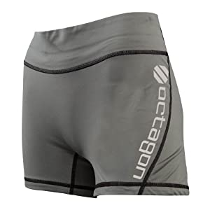 UFC Women's Octagon Training Shorts, Steel, X-Large