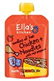 Ella's Kitchen - Stage 2 Baby Food - Chicken & Noodles with Red Peppers - 130g (Case of 6)...