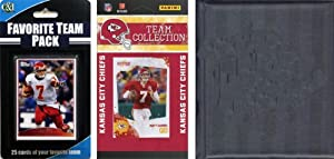 NFL Kansas City Chiefs Licensed 2010 Score Team Set and Favorite Player Trading Card... by C&I Collectables