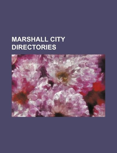 Marshall city directories