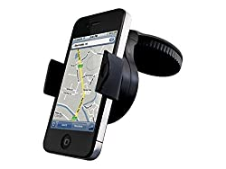 Cygnett Dashview Windscreen Car Mount for All Phones (Black)
