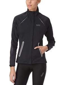 Gore Running Wear Damen Jacke Mythos Soft Shell Lady, Black, 34, JWMYTL990006