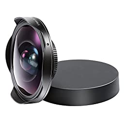 Neewer® 37MM 0.3X HD Ultra Fisheye Lens for Sony DCR Cameras, such as SR37,SR38,TRV11,CX360,HC3,PJ10,UX10 and HXR-MC1 Digital Video Camcorders