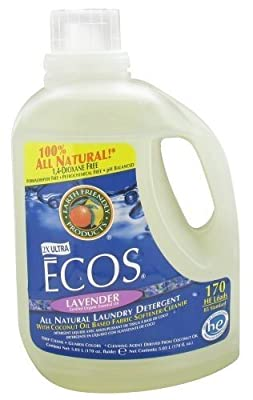 Earth Friendly - ECOS 2X Ultra All Natural Laundry Detergent Lavender - 170 oz.