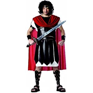 Mens Plus Size Hercules Costume or Roman Warrior Costume (Sword/Sandals Not Included)