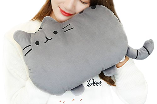 BXT Cartoon Rechargeable Plush Hand/Feet Warmer Explosion-proof Safe Portable Electric Hot Water Bottle Warmming Bag with Stuffed Soft Detachable Cover (Hot Water Foot Warmer compare prices)