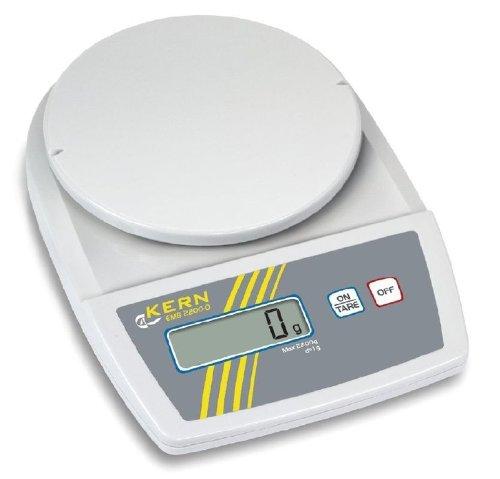 Balance de laboratoire d'entrée de gamme avec performance très élevée de pesée [Kern EMB 2200-0] Lecture 1 g, Portée 2200 g
