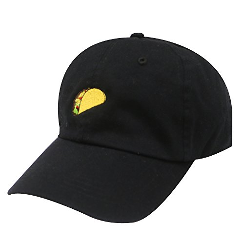 City Hunter C104 Taco Emoji Cotton Baseball Cap Dad Hats