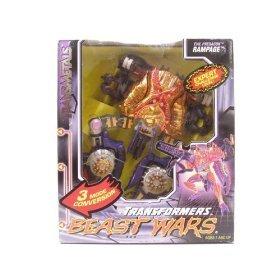 Transformers Beast Wars Transmetal Predacon RAMPAGE Action Figure (1998 Hasbro)