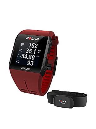 Polar Pulsera de Fitness V800 Hr Rojo