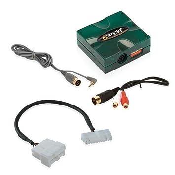 iSimple Aux2car (PXDX + PXHGM2) pour General Motors telles que Pontiac, Chevrolet, Cadillac, Oldsmobile (Bj. 1995-2004)