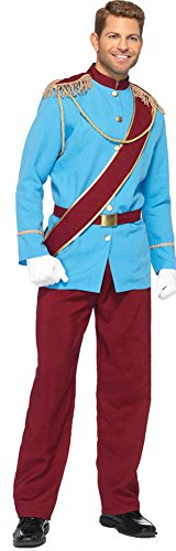 Adult Costumes - Prince Charming Teen Mens Costume Medium