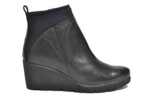 Melluso Tronchetti zeppa nero scarpe donna R1031 39