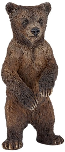 Papo Grizzly Bear Cub Toy Figure