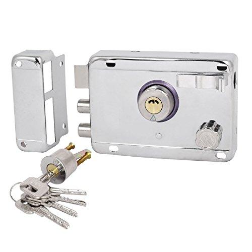 set-chiavistello-serratura-e-chiavi-per-porte-residenzialicolor-argento