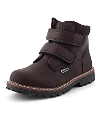 Kittens Boys Brown Synthetic Boots (KTB151) - 13 UK