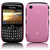 KEEP TALKING - BLACKBERRY CURVE 8520 TRANSPARENT BACK COVER CASE - LIGHT PINKby The Keep Talking Shop
