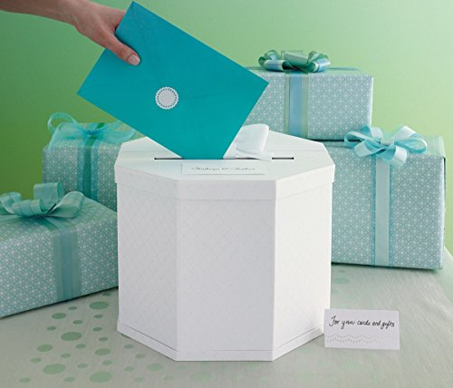 Martha Stewart Gift Card Box, White Eyelet image