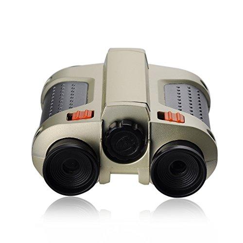 Victsing 4 X 30Mm Surveillance Scope Night Vision Binoculars With Pop-Up Lamp