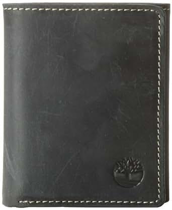Timberland Men's Mt. Washingtontrifold Wallet, Black, One Size
