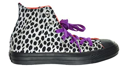 Converse Chuck Taylor Leopard Print Womens Sneakers White/Black 540283f-6