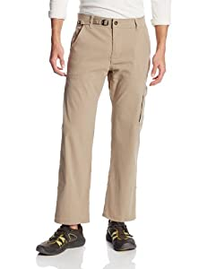 prAna Living Stretch Zion 30-Inch Inseam Pant, Dark Khaki, Medium