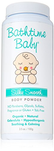 Bathtime Baby Silky Smooth Powder, 6 Ounce