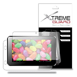 "XtremeGuardTM Tablet Full Body Screen Protector for Supersonic Matrix MID SC-999 9"" (Ultra Clear) at Electronic-Readers.com"