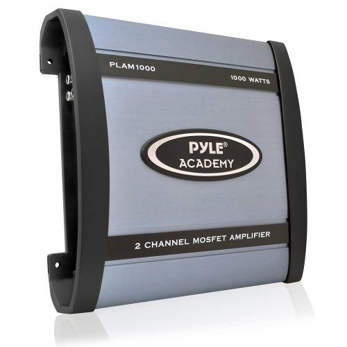 Pyle Plam1000 1,000-Watt 2-Channel Bridgeable Amplifier