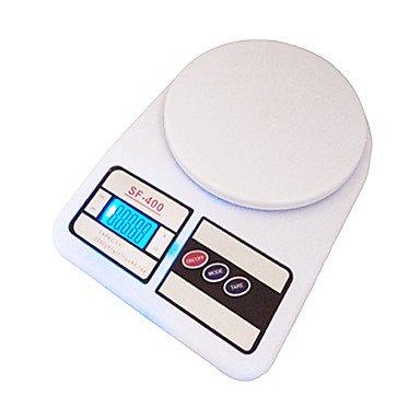 NingB 10 kg 1 g de cuisine digitale electronique postale pèse-personne numérique Poids pour Balance Balance Balance Balance de cuisine