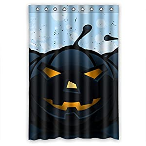 Happy Halloween Decoration Shower Curtain Measure 48 W X72 H