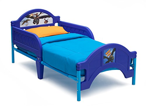 Delta Children Plastic Toddler Bed, DreamWorks How to Train Your Dragon 2 - 1