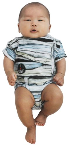 Faux Real Unisex-baby Mummy Romper