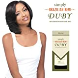 "SIMPLY BRAZILIAN REMI DUBY 8"" - OUTRE 100% HUMAN REMY HAIR WEAVE"