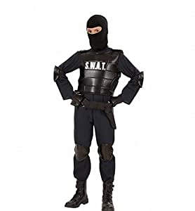 Déguisement Commando SWAT - Taille 128
