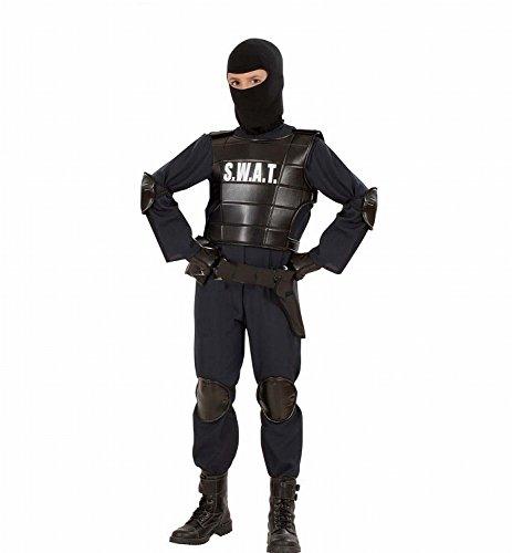 widmann-55348-kinder-kostum-swat-officer-anzug-weste-gurtel-maske-knie-und-ellenbogenprotektoren-sch